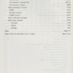 Admiralty list of lights and fog signals – vol. C – 1980