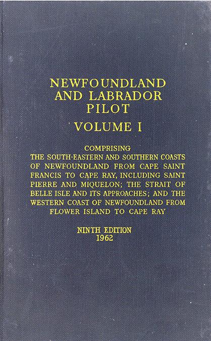 Newfoundland and Labrador Pilot vol. I