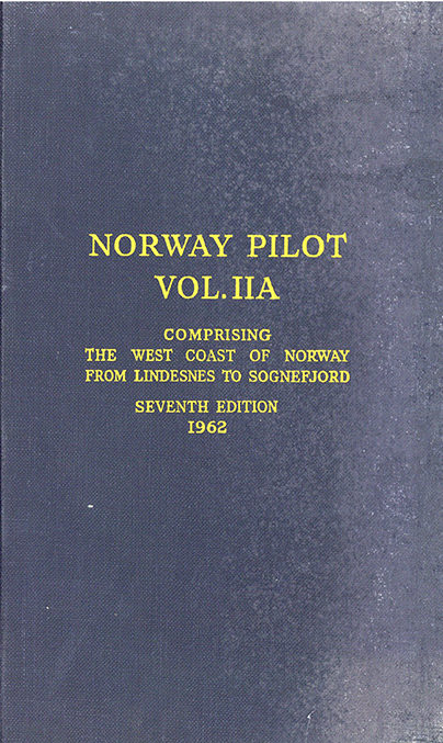 Norway Pilot vol. II A