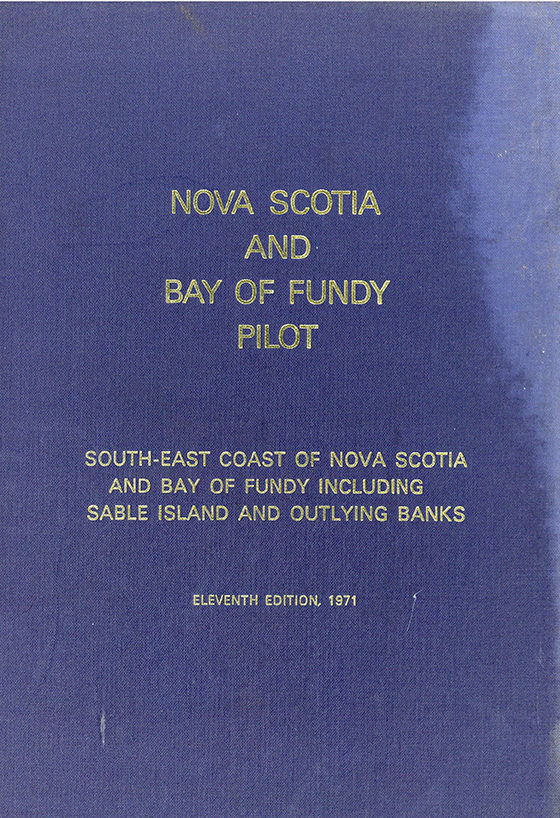Nova Scotia and Bay of Fundy Pilot