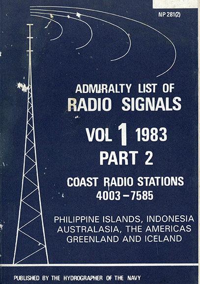 Admiralty list of Radio Signals vol. 1 – Part 2