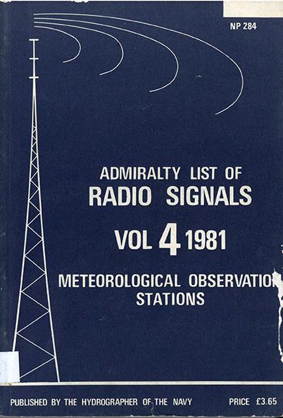 Admiralty list of Radio Signals vol. 4