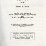 Admiralty list of Radio Signals vol. 5