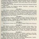 Admiralty list of Radio Signals vol. 6 part 2