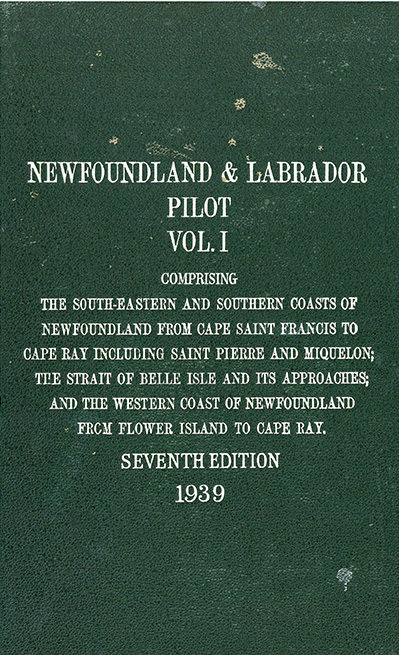 Newfoundland and labrador pilot – vol. 1