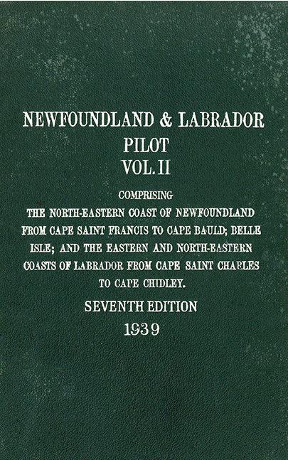 Newfoundland and labrador pilot – vol. 2
