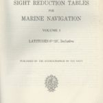 Sight Reduction Tables for Marine Navigation – vol. 1