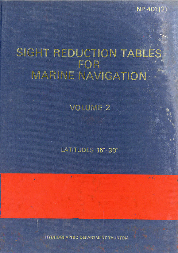 Sight Reduction Tables for Marine Navigation – vol. 2