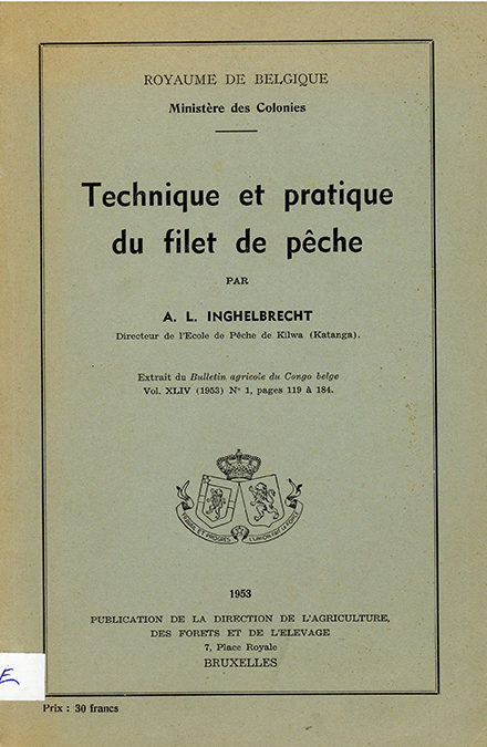 Technique et pratique du filet de peche
