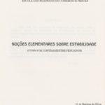Noções Elementares sobre Estabilidade (Curso Contramestre Pescador) – ESTAB. 1
