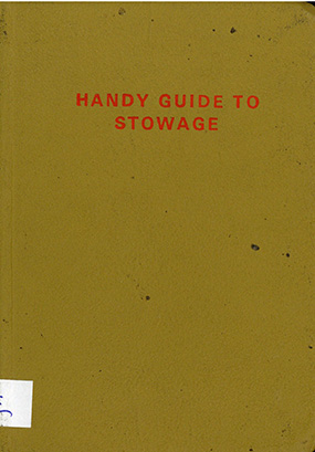 Handy guide to stowage