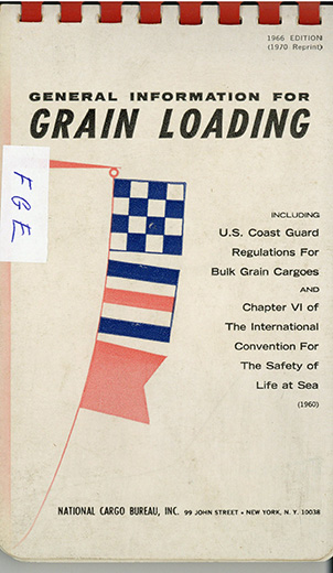 General Information For Grain Loading – 1970