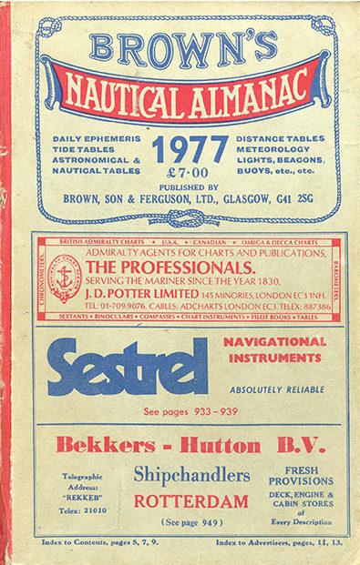 Brown's Nautical Almanac