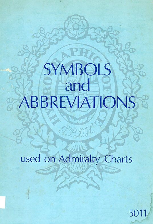 Symbols and Abreviations used on Admiralty Charts