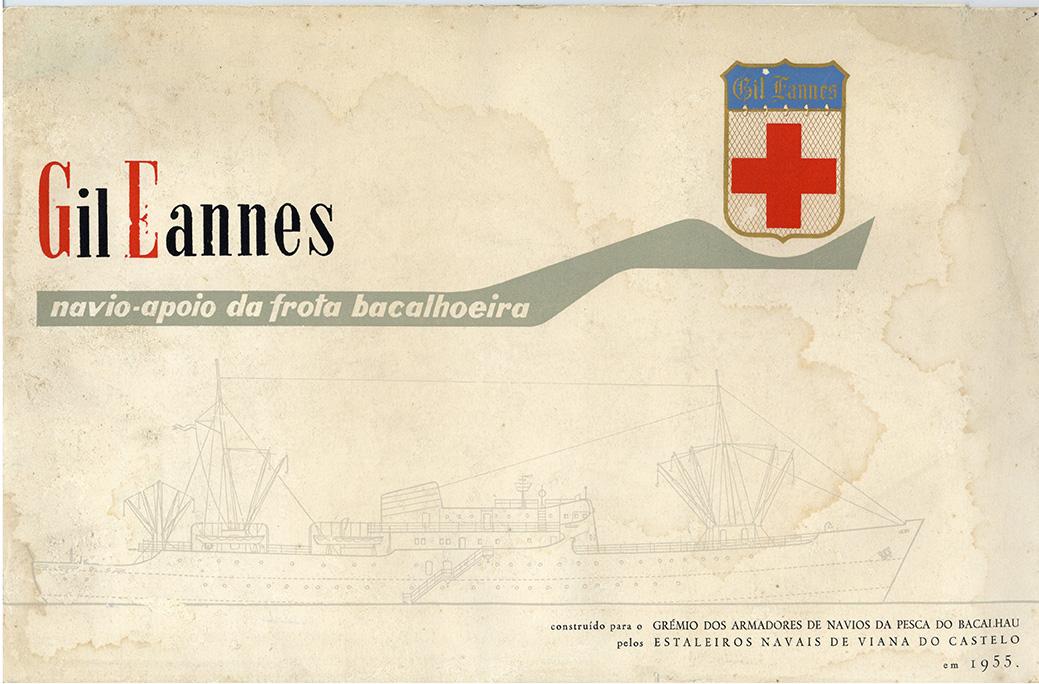 Gil Eannes: navio-apoio da frota bacalhoeira