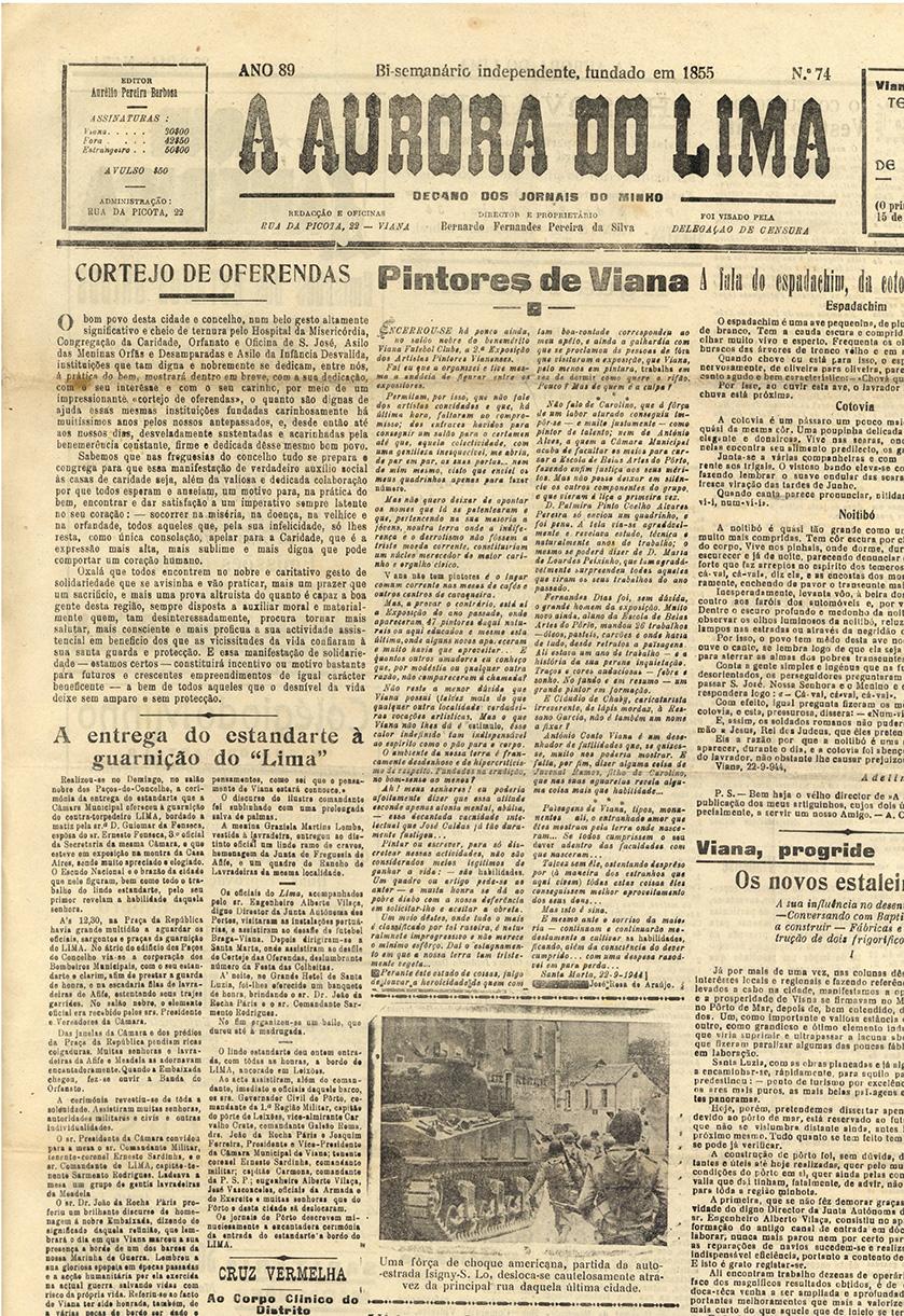 Viana, progride: os novos Estaleiros Navais