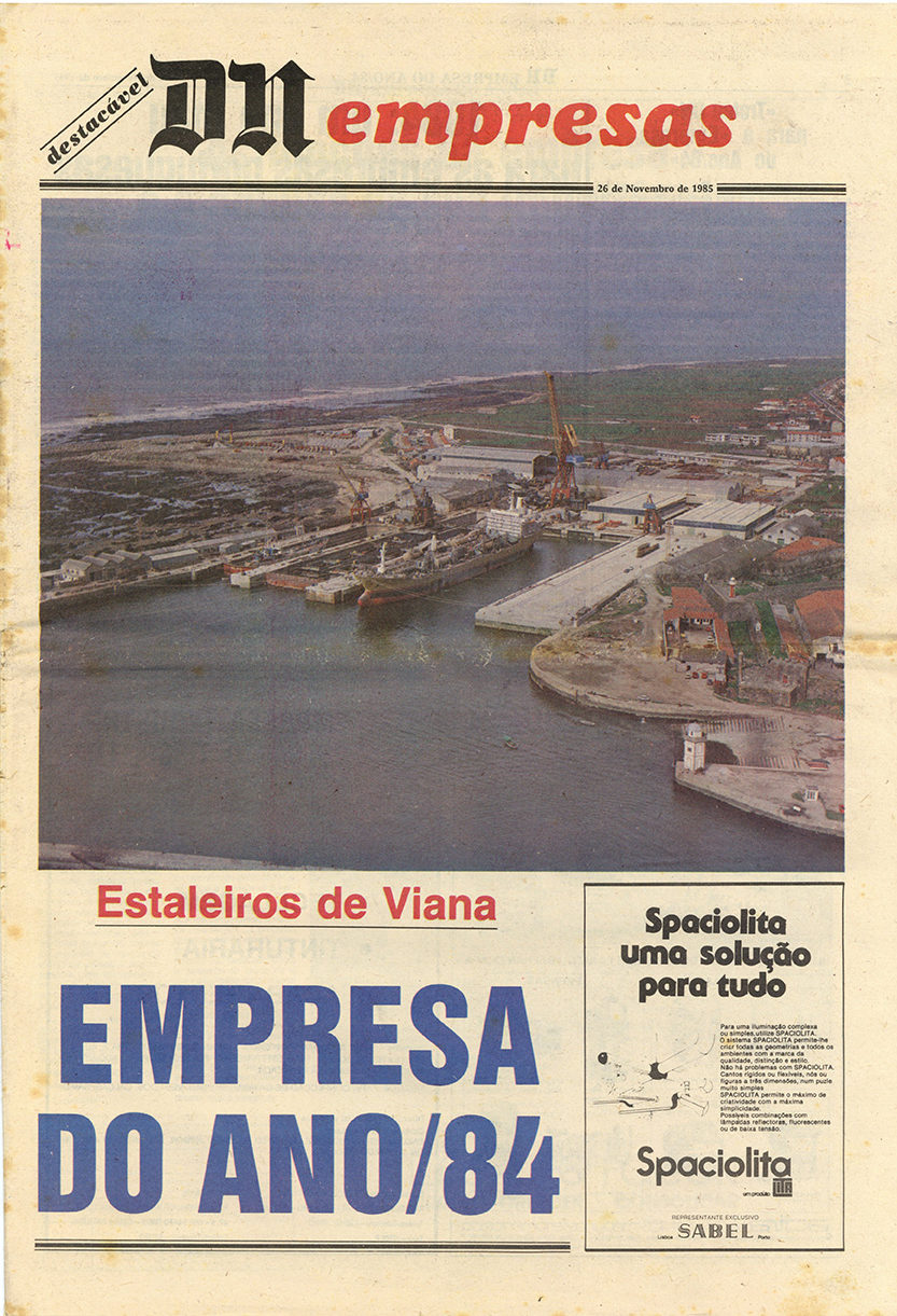 Estaleiros de Viana: Empresa do ano/84