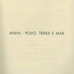 Anha – povo, terra e mar