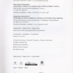 Proceedings International Symposium on Archaeology of Medieval and Modern Ships of Iberian- Atlantic Tradition Hull remains, manuscripts and ethnographic sources: a acomparative approach