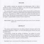 Contribuições para o conhecimento das artes de pesca utilizadas no Algarve, n.º13/2006