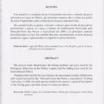 Contribuições para o conhecimento das artes de pesca utilizadas na lagoa de Óbidos, n.º16/2007