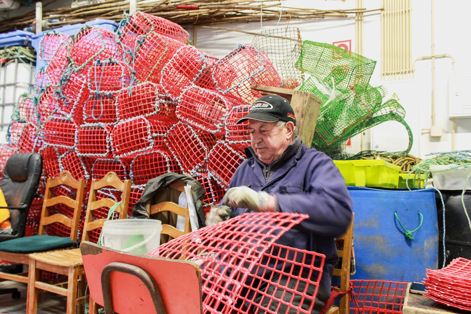 Uma vida dedicada à pesca