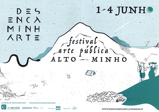 Desencaminharte: festival arte pública Alto Minho