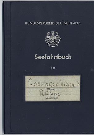 Seefahrbuch – Rodrigues Vieira Rufino (Bundesrepublik Deutschland)