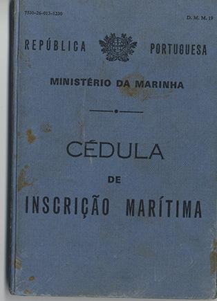 Cédula de inscrição marítima