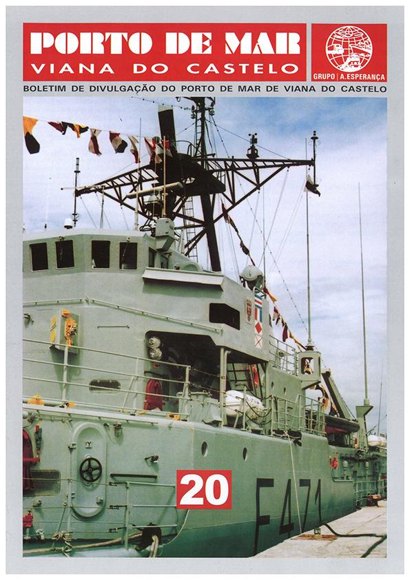 Porto de Mar Viana do Castelo – boletim de divulgação do porto de mar de Viana do Castelo, n.º20