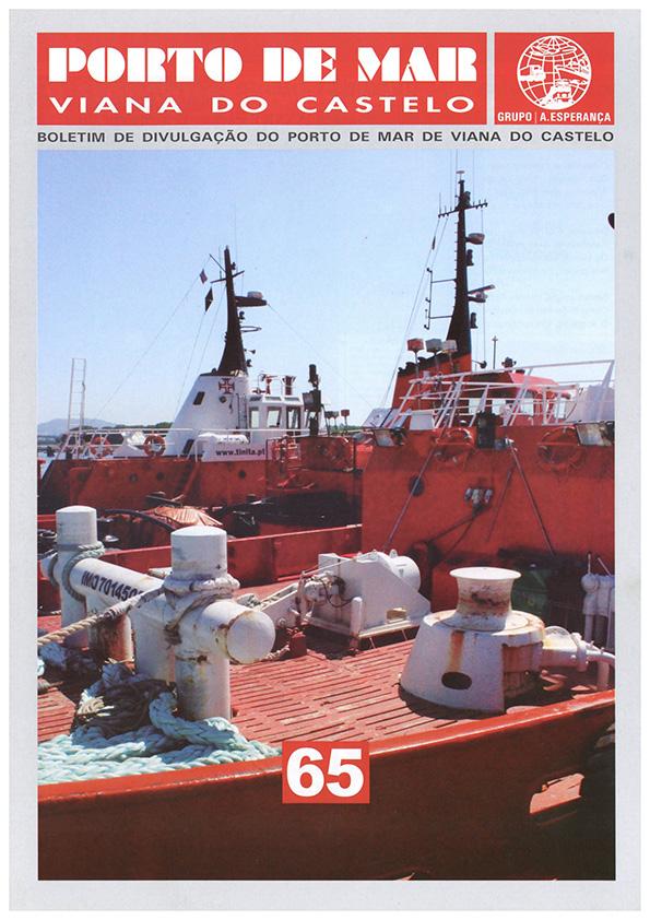 Porto de Mar Viana do Castelo – boletim de divulgação do porto de mar de Viana do Castelo – n.º65