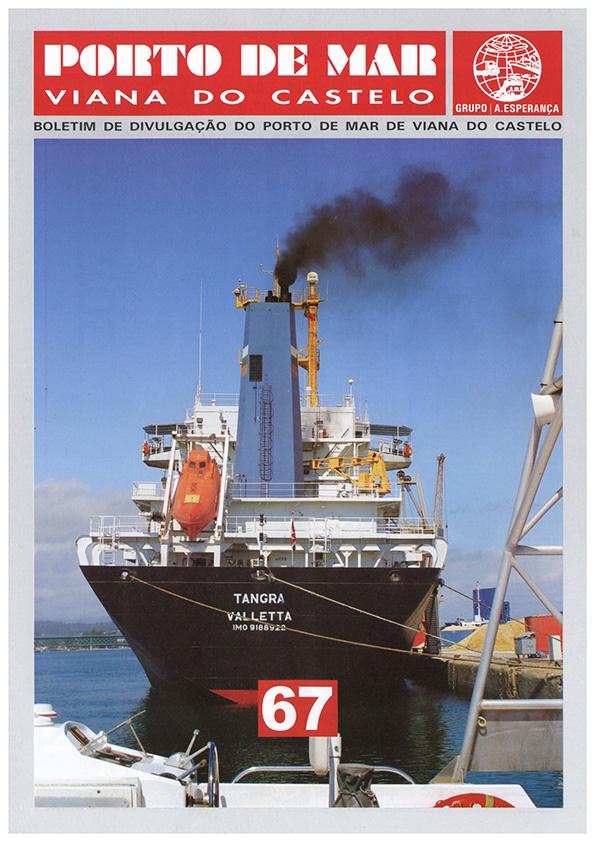Porto de Mar Viana do Castelo – boletim de divulgação do porto de mar de Viana do Castelo – n.º67