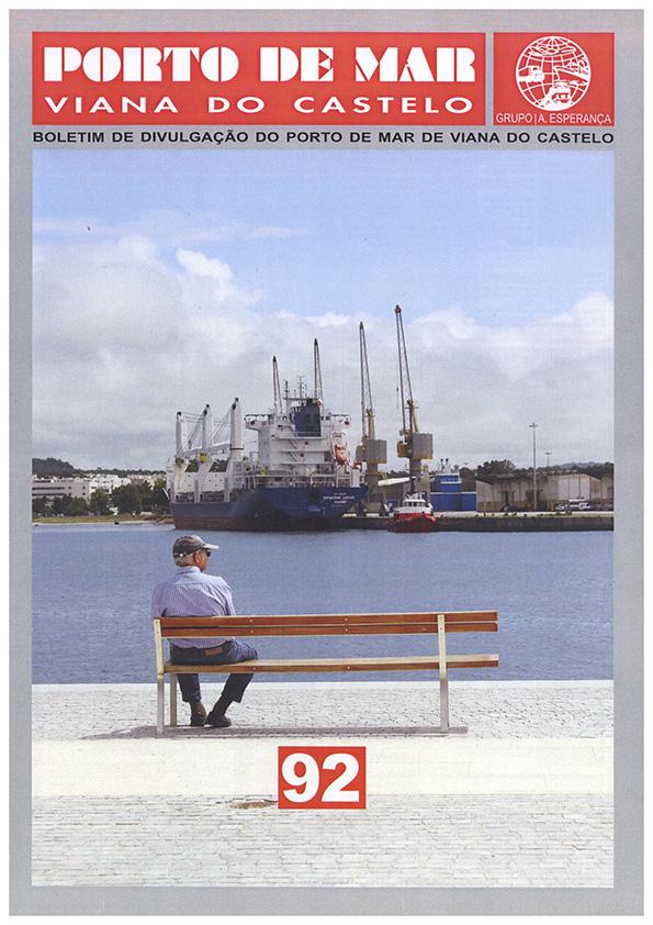 Porto de Mar Viana do Castelo – boletim de divulgação do porto de mar de Viana do Castelo – n.º92