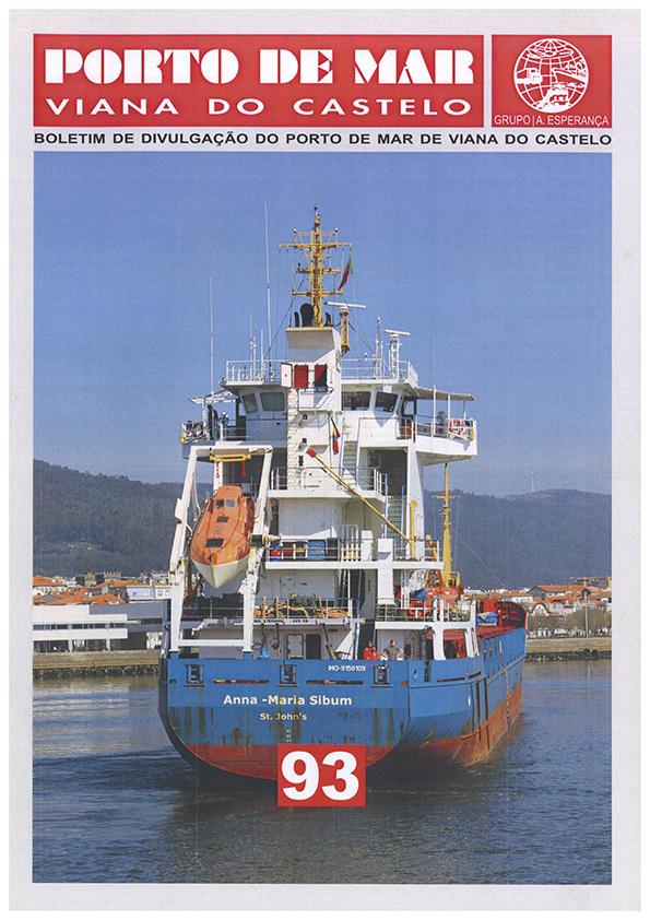 Porto de Mar Viana do Castelo – boletim de divulgação do porto de mar de Viana do Castelo – n.º93