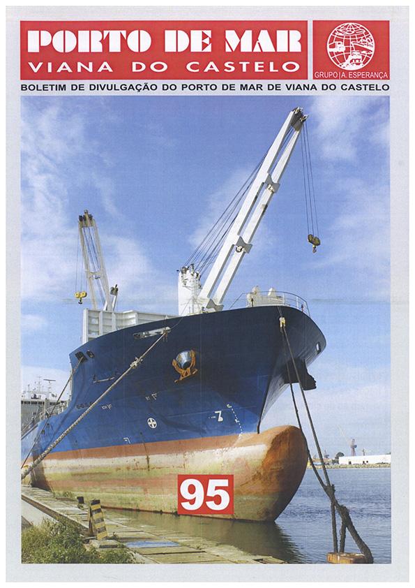 Porto de Mar Viana do Castelo – boletim de divulgação do porto de mar de Viana do Castelo – n.º95