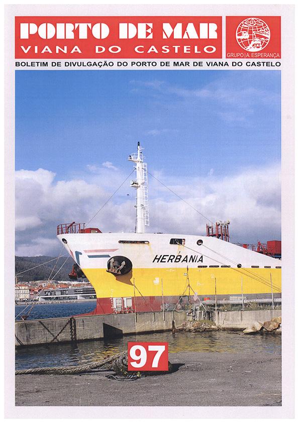 Porto de Mar Viana do Castelo – boletim de divulgação do porto de mar de Viana do Castelo – n.º97