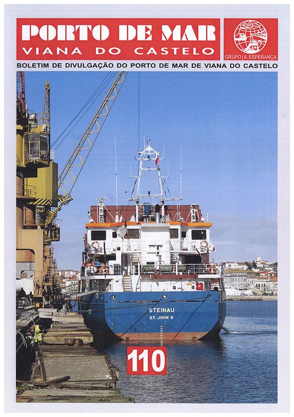Porto de Mar Viana do Castelo – boletim de divulgação do porto de mar de Viana do Castelo – n.º110