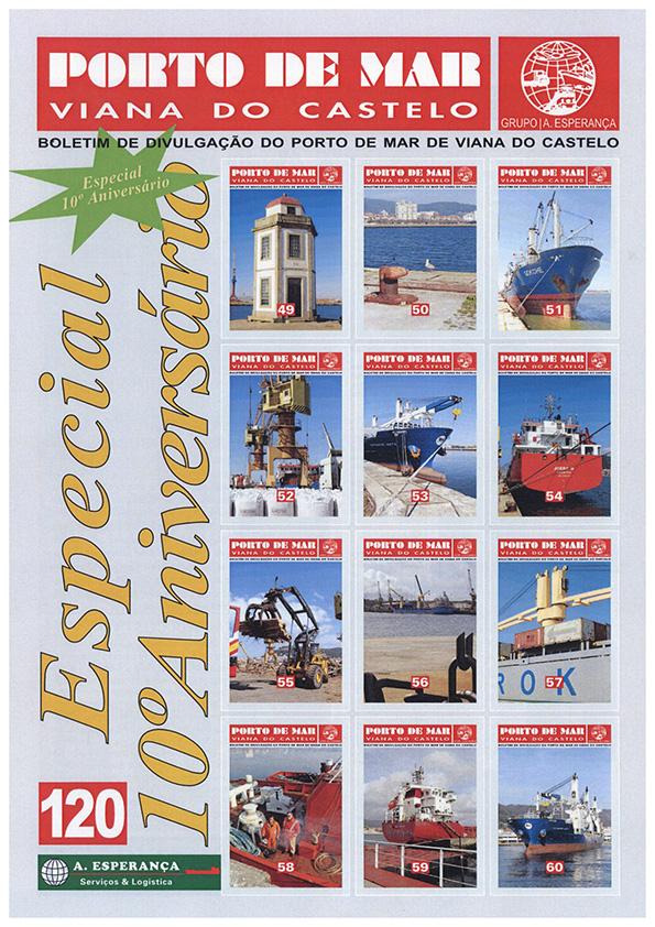 Porto de Mar Viana do Castelo – boletim de divulgação do porto de mar de Viana do Castelo – n.º120