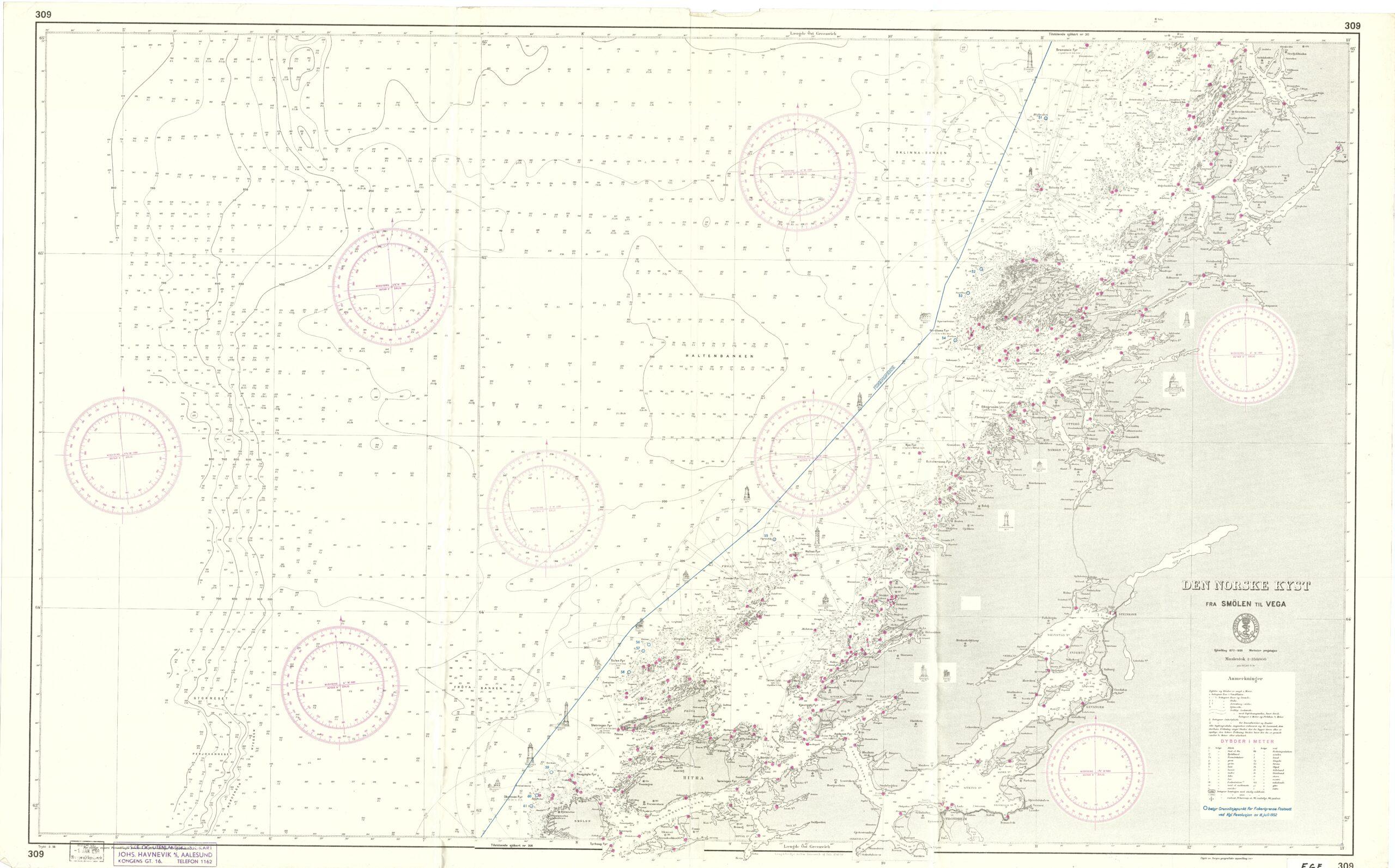 Den Norske kyst fra Smolen til Vega