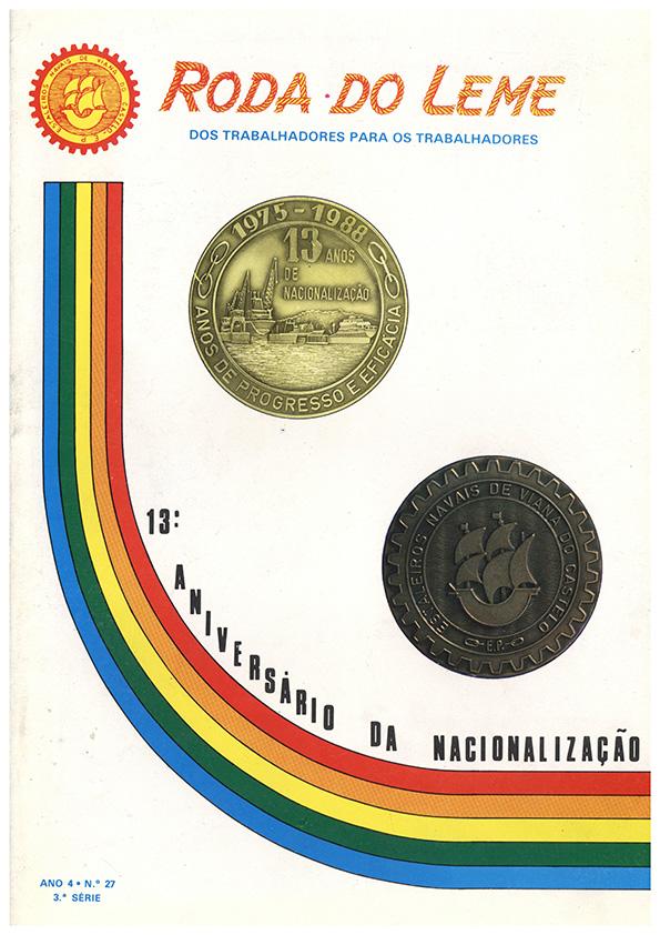 Roda do Leme, ano 4 – n.º27 (3ªsérie)