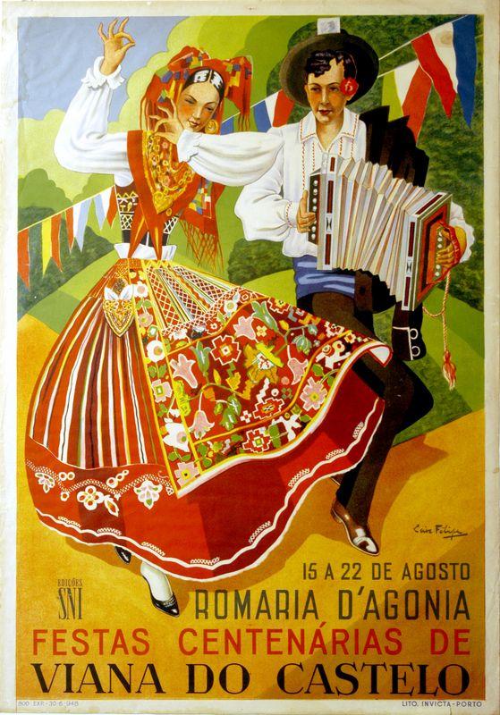 A Representação Gráfica das Mordomas / Lavradeiras na época Modernista nos cartazes da Romaria