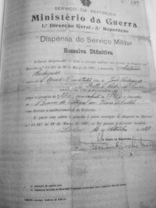 Dispensa do serviço militar