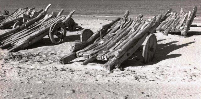 Jangadas na praia