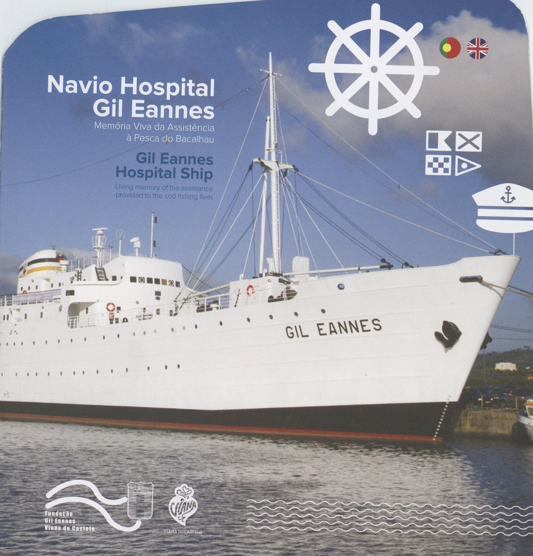 Navio Hospital Gil Eannes – memória viva da assistência à pesca do bacalhau / Gil Eannes Hospital Ship – Living memory of the assistance provided to the cod fishing fleet